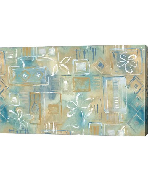 "Metaverse Floral Abstract by Stessi Canvas Art, 25"" x 16"""