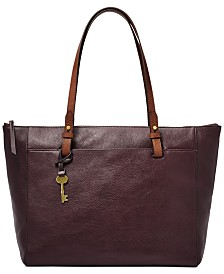 Fossil Rachel TZ Leather Tote