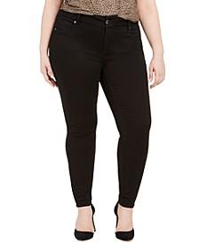 Seven7 Plus Size Tummyless Skinny Jeans