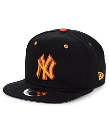 New Era New York Yankees Orange Pop 9FIFTY Cap