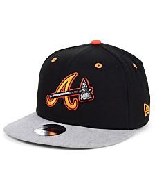 New Era Boys' Atlanta Braves Lil Orange Pop 9FIFTY Cap