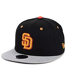 Boys' San Diego Padres Lil Orange Pop 9FIFTY Cap