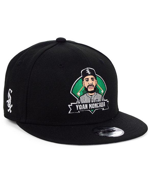 New Era Big Boys Yoan Moncada Chicago White Sox Lil Player 9FIFTY Snapback Cap