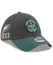 Philadelphia Eagles On-Field Sideline Home 39THIRTY Cap