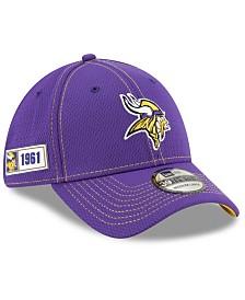 New Era Minnesota Vikings On-Field Sideline Road 39THIRTY Cap