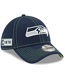 New Era Seattle Seahawks On-Field Sideline Road 39THIRTY Cap