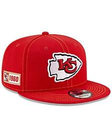New Era Kansas City Chiefs On-Field Sideline Road 9FIFTY Cap