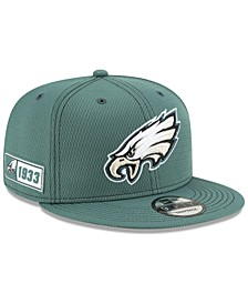 Philadelphia Eagles On-Field Sideline Road 9FIFTY Cap