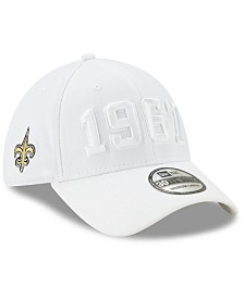 New Era New Orleans Saints On-Field Alt Collection 39THIRTY Stretch Fitted Cap
