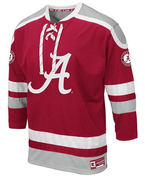 Colosseum Men's Alabama Crimson Tide Mr. Plow Hockey Jersey