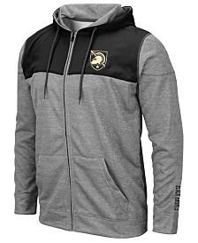 Colosseum Men's Army Black Knights Nelson Full-Zip Hooded Sweatshirt