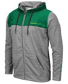 Colosseum Men's Oregon Ducks Nelson Full-Zip Hooded Sweatshirt