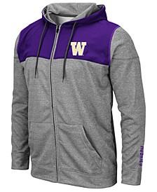 Men's Washington Huskies Nelson Full-Zip Hooded Sweatshirt