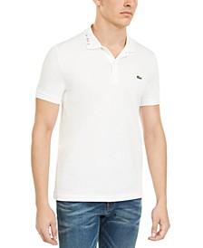 Rainbow Logo Slim-Fit Polo Shirt