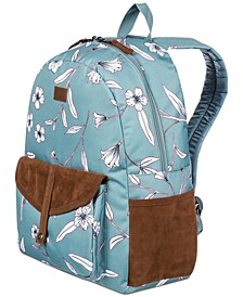 Caribbean Printed Backpack