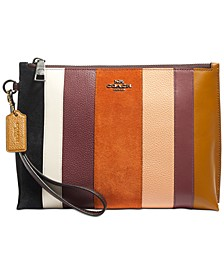 Patchwork Stripes Charlie Pouch