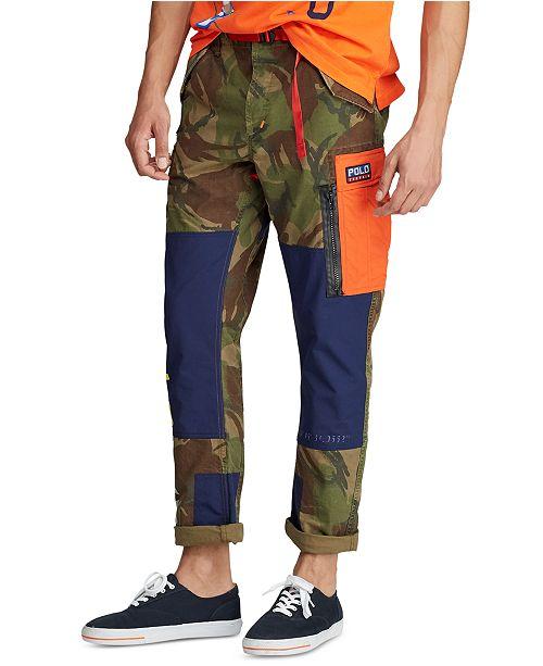 Polo Ralph Lauren Men's Slim Fit Camo Cargo Pants