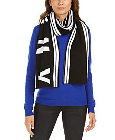 Striped Stadium Logo Scarf