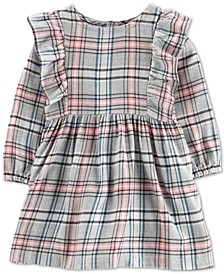 Baby Girls Plaid Twill Dress