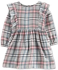 Baby Girls Plaid Twill Dress