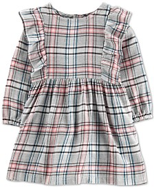 Carter's Baby Girls Plaid Twill Dress