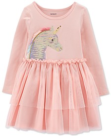Baby Girls Sequined Unicorn Tutu Dress
