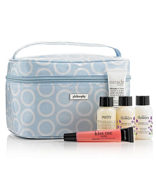 philosophy Receive a FREE 6-Pc. Beauty and Blossoms Gift with $35 philosophy purchase