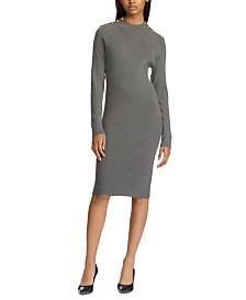 Lauren Ralph Lauren Long-Sleeve Sweater Dress