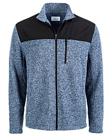 Attack Life by Greg Norman Colorblocked Zip Sweater