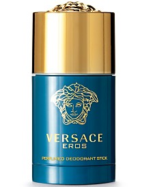 Versace Men's Eros Deodorant Stick, 2.6 oz.