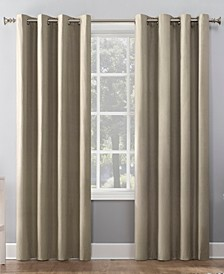 "Duran 50"" x 84"" Thermal Insulated 100% Blackout Grommet Curtain Panel"