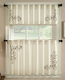 Leaf Scroll Window Treatment Collection