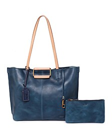 High Hill Leather Tote Bag
