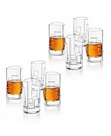 Revere Triangle Shot Glasses, Set of 8