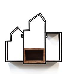 Stratton Home Decor Scandinavian Decorative Shelf