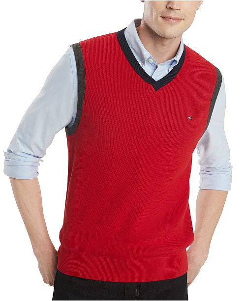 Tommy Hilfiger Men's Jack V-Neck Sweater Vest