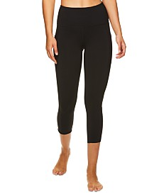 Gaiam Om Sienna High-Rise Capri Leggings