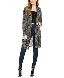 Juniors' Duster Cardigan