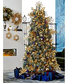Holiday Lane Midnight Blue Collection, Created for Macy's