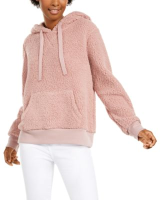 Hippie Rose Juniors Lace-Up Hoodie