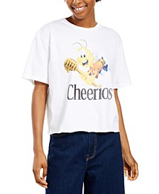 Juniors' Cheerios Cotton T-Shirt