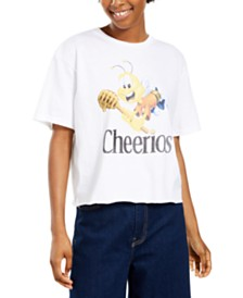 Mad Engine Juniors' Cheerios Cotton T-Shirt