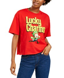 Mad Engine Juniors' Lucky Charms Retro T-Shirt