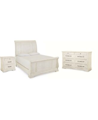 Trisha Yearwood Homecoming Sleigh Bedroom Collection 3-Pc. Set (Queen Bed, Nightstand & Dresser)