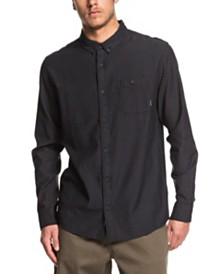 Quiksilver Men's Waterfall Long Sleeve Shirt