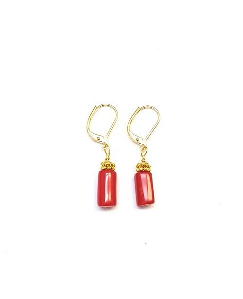 MINU Jewels Coral Earrings