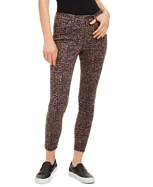 Rewash Juniors' Printed Skinny Jeans