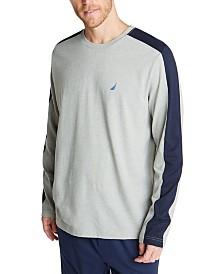 Nautica Men's Colorblocked Pajama Shirt