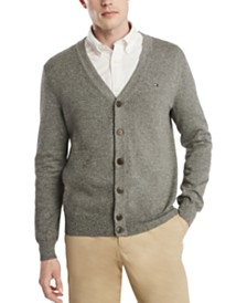 Tommy Hilfiger Men's Signature Regular-Fit Cardigan
