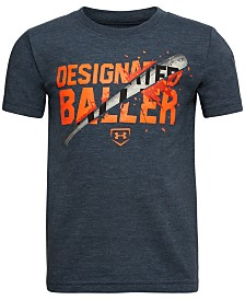 Under Armour Little Boys Baller-Print T-Shirt